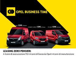 Promozioni Opel - Gruppo Farina Concessionaria Renault, Dacia, Opel ...
